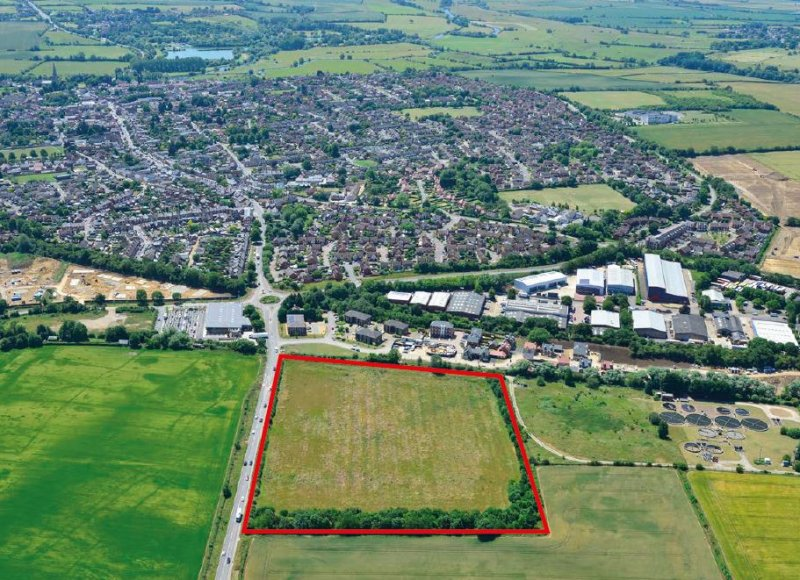 Angle Property exchange contracts on a new site in Olney